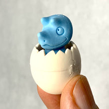 Load image into Gallery viewer, 382418 IWAKO BABY DINO & EGG ERASER-BLUE-1 eraser