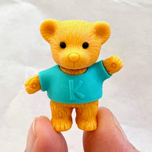Load image into Gallery viewer, 381444 BEAR ERASERS-2 COLORS-2 erasers