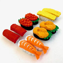 Load image into Gallery viewer, 383061 IWAKO MINI SUSHI ERASER CARDS-DISCONTINUED
