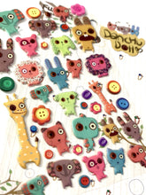 Load image into Gallery viewer, 405591 DANCHU DOLL PUFFY STICKERS-1 sheet