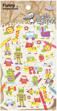 Load image into Gallery viewer, 406341 MAGIC CRAYON Sticker-1 sheet