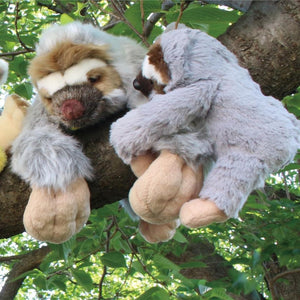 63139 HANGING BABY SLOTH PLUSH-1 piece