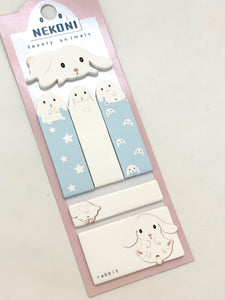 500661 RABBIT STICKY NOTES SET-1 pad
