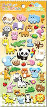 Load image into Gallery viewer, 502791 WILD PUFFY STICKER-1 sheet
