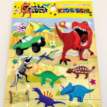 Load image into Gallery viewer, 511551 DINOSAUR PUFFY STICKER-1 sheet