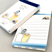 Load image into Gallery viewer, 597481 Penguin Bread Mini Notepad CRUX-1 Notepad
