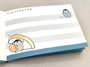 597481 Penguin Bread Mini Notepad CRUX-1 Notepad