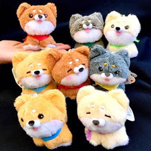 Load image into Gallery viewer, 63027 AKITA DOG PLUSH KEY CHARM-8 assorted dogs