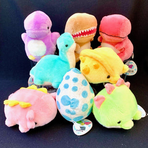 63040 DINOSAUR PLUSH TOYS-LARGE-8 assorted dinosaurs