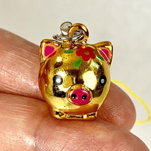 Load image into Gallery viewer, 706021 GOLDEN PIG BELL-2 bells