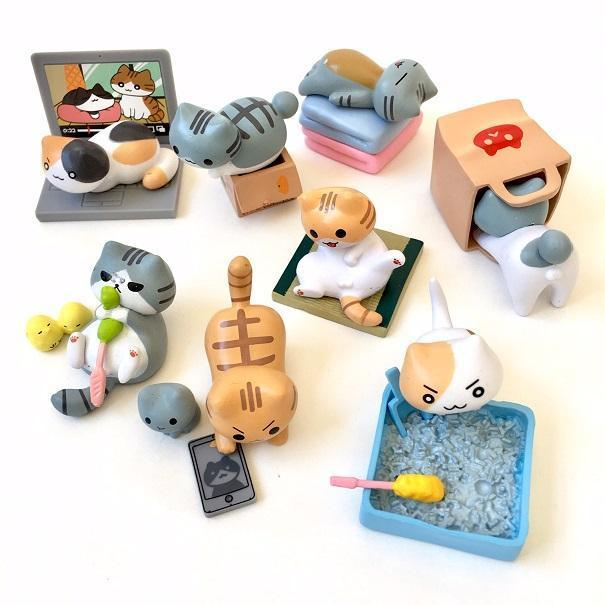 70712 NEKONO Playful Cats Vol.2 Blind Box -8 assorted