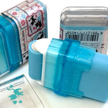 Load image into Gallery viewer, 71405 KAMIO ROLLER SCENTED ERASER-BLUE-SUGARY RIBBON-1 eraser