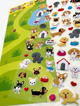 Load image into Gallery viewer, 717511 DOG PUFFY STICKERS-1 sheet