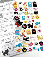 Load image into Gallery viewer, 721471 PAWS STICKERS-1 sheet