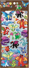 Load image into Gallery viewer, 744161 DRAGON PUFFY STICKER-1 sheet