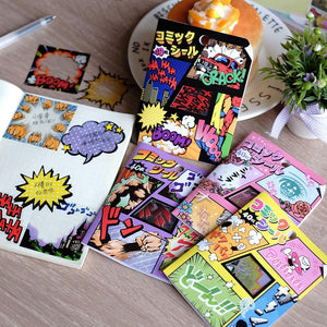 756511 COMICS BUBBLES STICKER BAG-1 bag