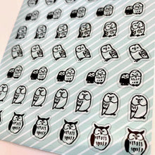 Load image into Gallery viewer, 773831 OWL CLEAR STICKER-1 sheet
