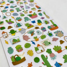 Load image into Gallery viewer, 782401 CACTUS CLEAR STICKER-1 sheet