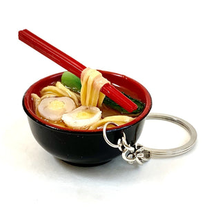 830331 RAMEN WITH CHOPSTICKS KEYRING-1 piece