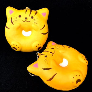 832211 Cat Donut Ring Squishy-slowrise-4 inch-1 piece