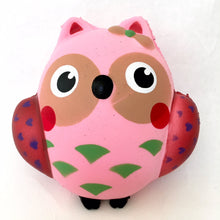 Load image into Gallery viewer, 832331 PINK OWL SQUISHY-5 inch-slowrise soft-1 piece