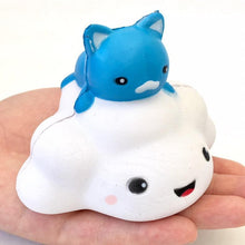 Load image into Gallery viewer, 832721 CAT ON CLOUD SQUISHY-slow rise-3 inch-1 piece