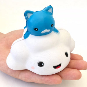 832721 CAT ON CLOUD SQUISHY-slow rise-3 inch-1 piece