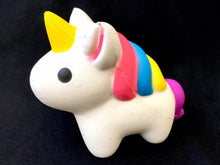 Load image into Gallery viewer, 832771 LARGE UNICORN SQUISHY-slow rise-5.5 inch-1 piece