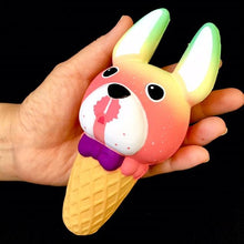 Load image into Gallery viewer, 832821 DOG ICE CREAM SQUISHY-slow rise-6 inch-1 piece