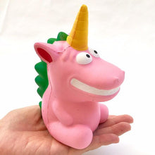 Load image into Gallery viewer, 832911 DINOSAUR UNICORN SQUISHY-slow rise-6 inch-1 piece