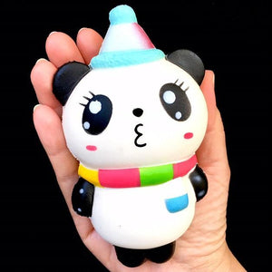 833051 PARTY PANDA SQUISHY-slow soft-5.25 inch-1 piece