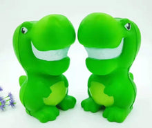 Load image into Gallery viewer, 833081 GREEN DINOSAUR SQUISHY-slow rise-4 inch-1 piece