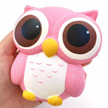 Load image into Gallery viewer, 833111 PINK OWL SQUISHY-slow soft-4.25 inch-1 piece