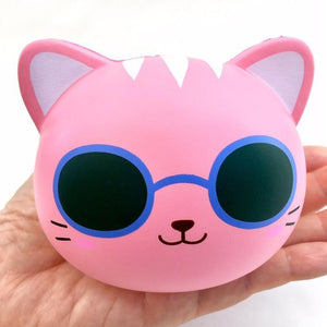 833161 COOL CAT SQUISHY-slow soft-4 inch-1 piece