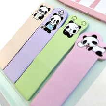 Load image into Gallery viewer, 851611 PANDA IN BED STICKY NOTEPAD-1 pad