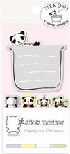 Load image into Gallery viewer, 851621 PANDA BATH STICKY NOTEPAD-1 pad