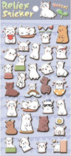 Load image into Gallery viewer, 853371 LLAMA PUFFY STICKER-1 sheet