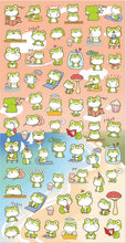 Load image into Gallery viewer, 853531 Nekoni Frog Stickers-1 sheet