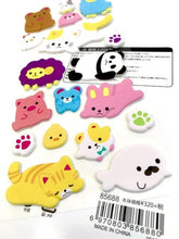 Load image into Gallery viewer, 856881 ANIMALS PUFFY STICKER-1 sheet
