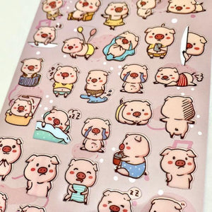 857871 Pig Sticker-1 sheet