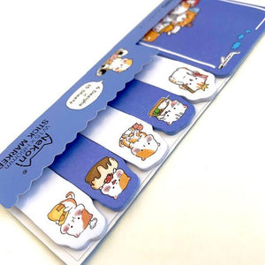 857891 CAT STICKY INDEX NOTES-1 pad
