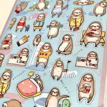 Load image into Gallery viewer, 858031 Sloth Gel Sticker-1 sheet