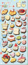 Load image into Gallery viewer, 859271 DESSERT PUFFY STICKERS-1 sheet