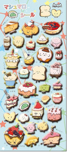 859271 DESSERT PUFFY STICKERS-1 sheet
