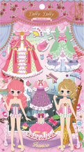 Load image into Gallery viewer, 911871 DOLLY DOLLY PUFFY DRESS UP STICKERS-4 assorted sheets