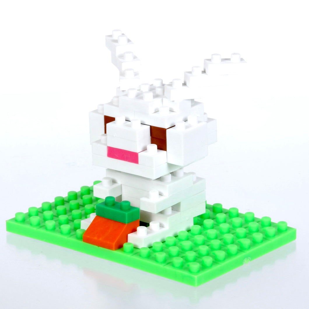 38477 Iwako BLOCKS Bunny Rabbit Eraser-1