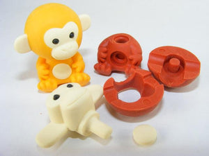 382176 IWAKO GOLDEN MONKEY ERASER-1 eraser