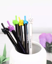 Load image into Gallery viewer, 221881 Cat Tail Gel Pen-6 assorted pens