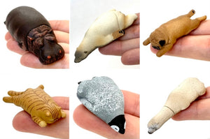 708831 SLEEPY ANIMAL FIGURINES Vol. 3-6