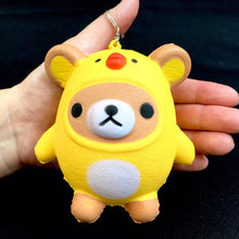 Load image into Gallery viewer, 831931 CHICK BEAR. Slow and soft. Keyring-Slow and soft-1 piece